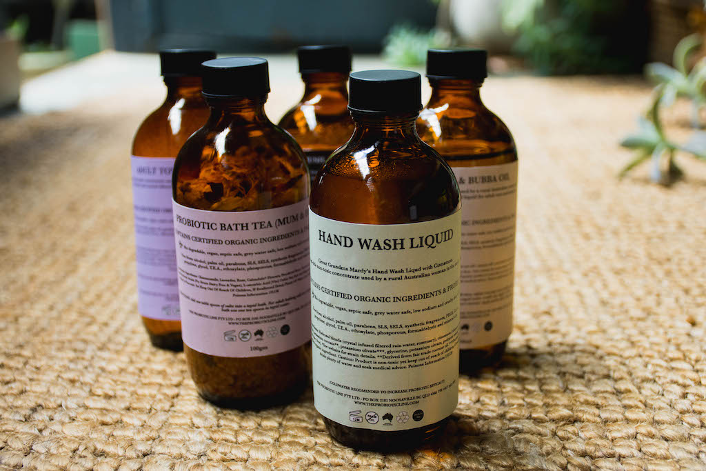 Probiotic Hand Liquid - Bio degradable & Palm Oil Free Laundry Liquid | The Probiotic Line