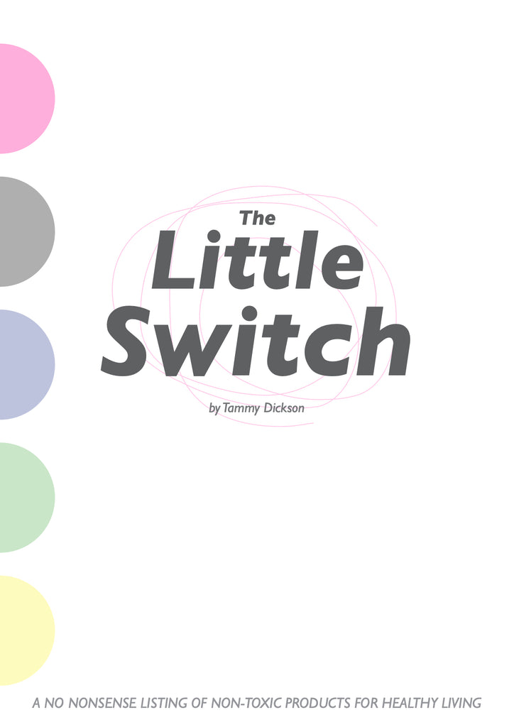 The Little Switch E Book - Bio degradable & Palm Oil Free Laundry Liquid | The Probiotic Line