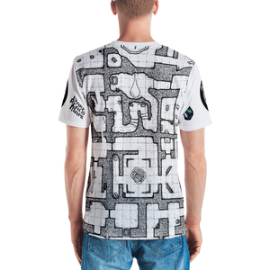 Men's T-shirt: All-Over Adventure Post Swag - The Book of Truth