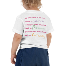 Load image into Gallery viewer, Cutivore - Toddler Short Sleeve Tee