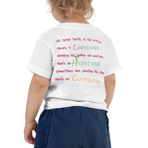 Cutivore - Toddler Short Sleeve Tee