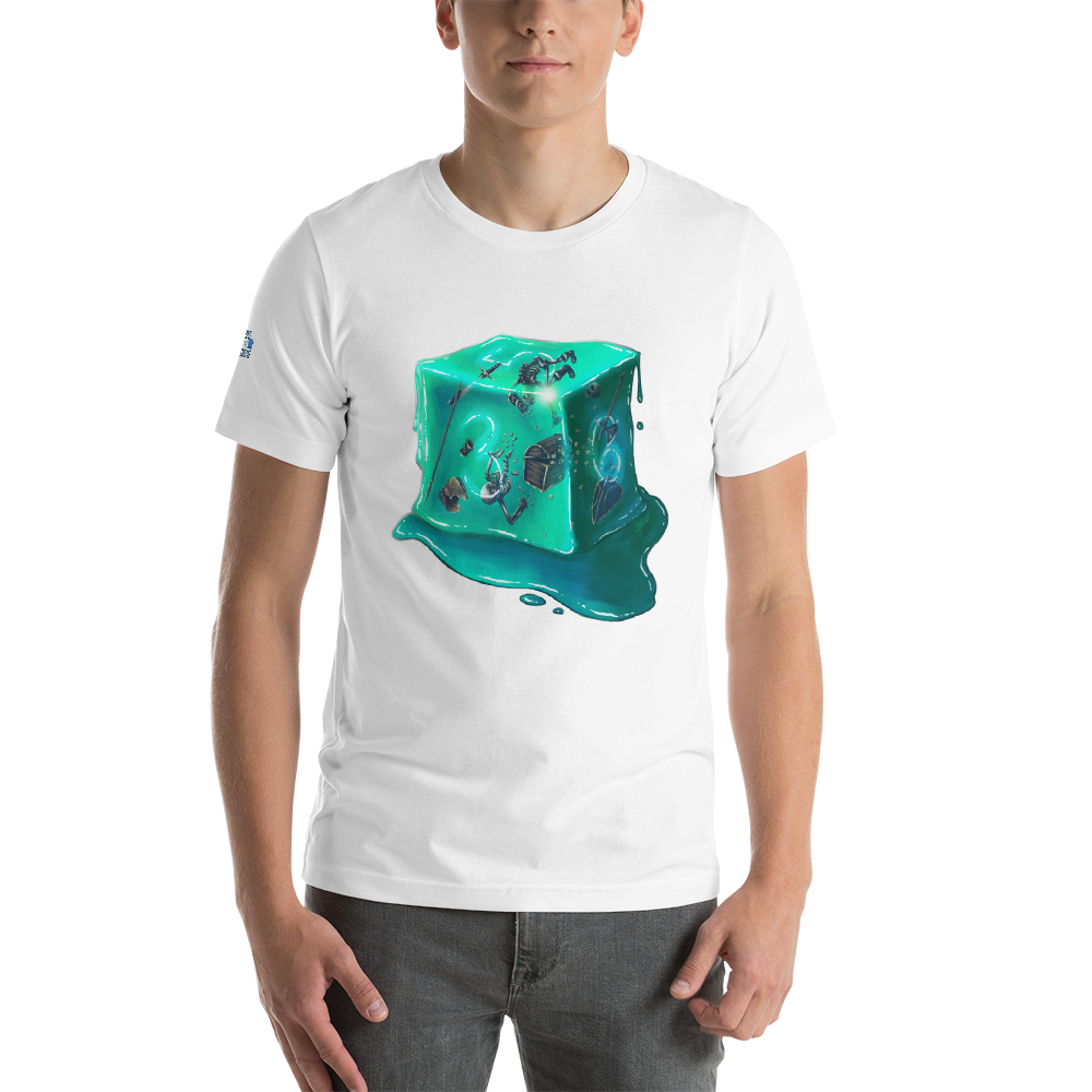 Gelatinous D6 - Short-Sleeve Unisex T-Shirt