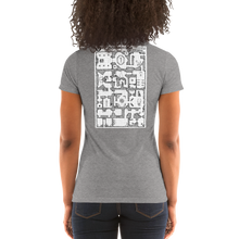 Load image into Gallery viewer, Ladies' short sleeve t-shirt: Adventure Post Game Map