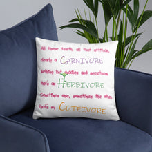 Load image into Gallery viewer, Cutivore - Basic Pillow