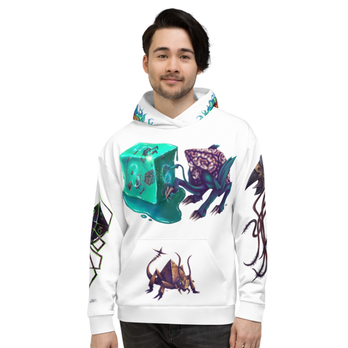 Dice Mimics - All-Over Print Hoodie