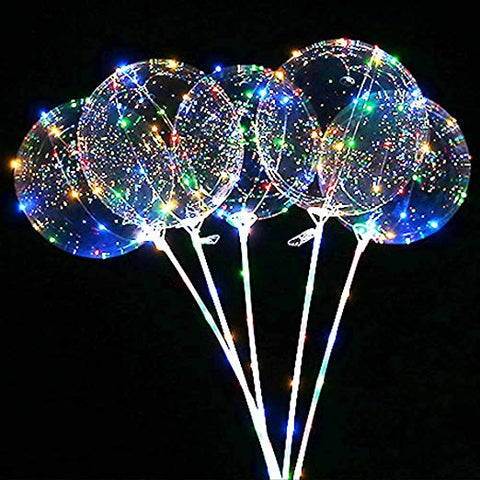 LED Balloons with Light boba