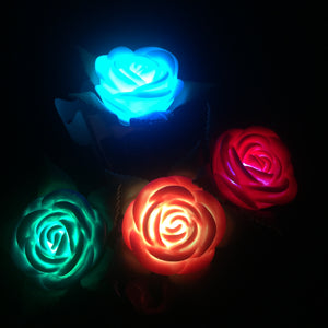 LED Light-Up Glowing Roses