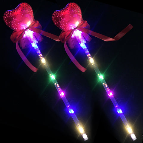 LED Light-Up Glowing Roses Heart