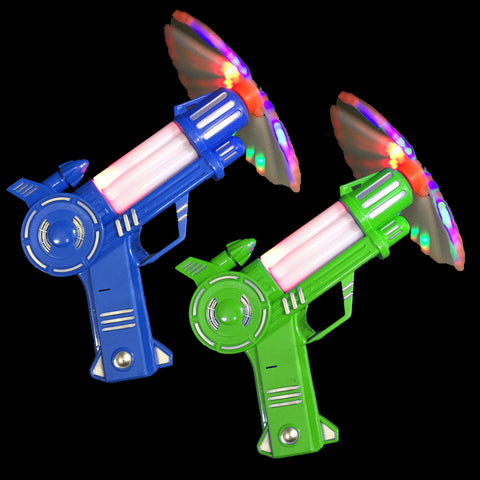 Spinning Electronic Toy Gun with Sound and Music