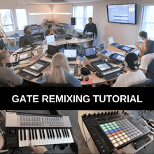 Load image into Gallery viewer, Broken Techno drum loops + Gate Remixing template