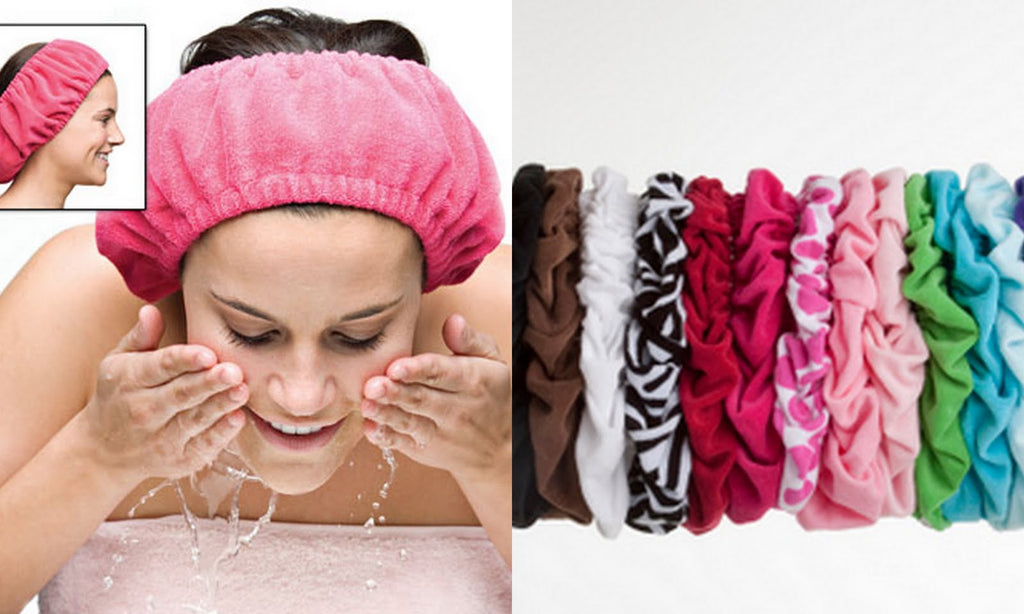Tassi Terry Cloth Hair Holder