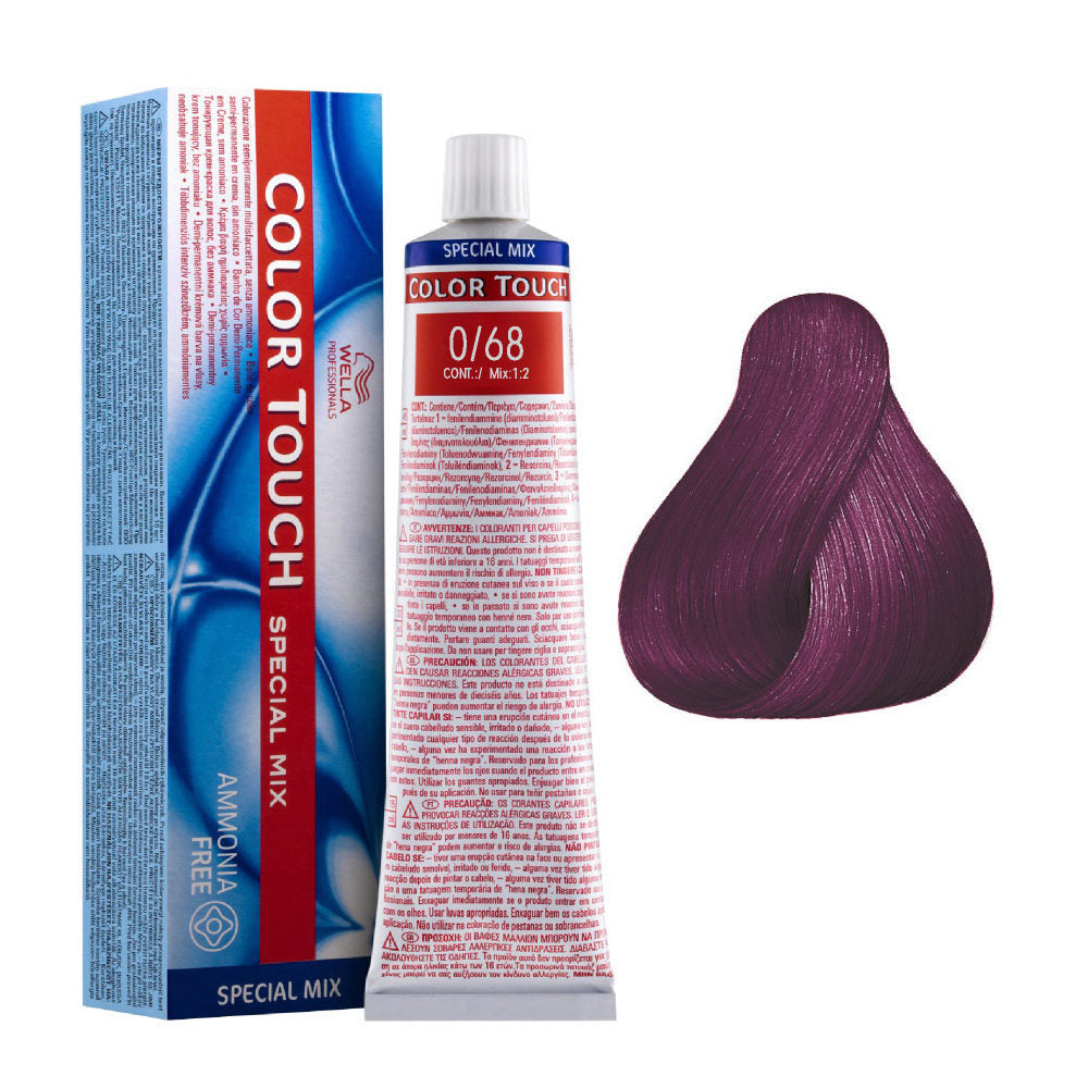 Wella Color Touch 0/68 Violet Pearl Demi-Permanent