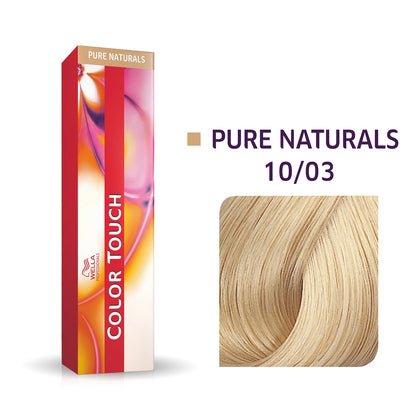 Wella Color Touch 10/03 Lightest Blonde/Natural Gold Demi-Permanent