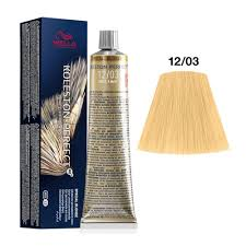 Wella Koleston Perfect 12/03 ME+ Special Blonde Natural Gold Permanent