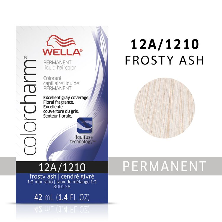 Wella Color Charm Liquid Permanent Hair Color 12A - Frosty Ash