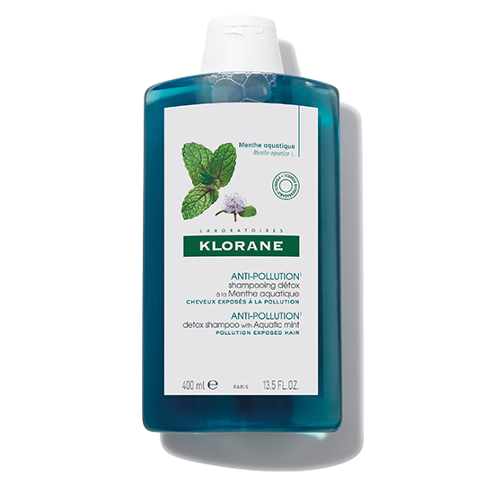 Klorane Anti Pollution Shampoo Detox with Aquatic Mint