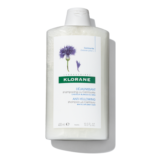 Klorane Anti Yellowing Shampoo With Centaury