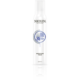 Nioxin Bodifying Foam ~ a volume mousse for creating thicker hairstyles