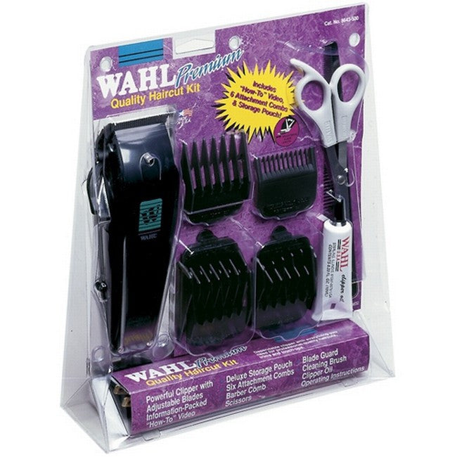 Wahl #8643-500 Deluxe Home Clipper Kt