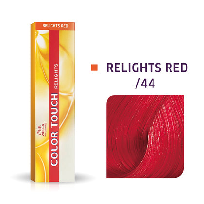 Wella Color Touch /44 Intense Red Demi-Permanent