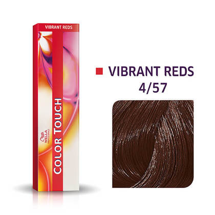 Wella Color Touch 4/57 Medium Brown/Red-Violet Brown Demi-Permanent