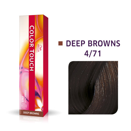 Wella Color Touch 4/71 Medium Brown/Brown Ash Demi-Permanent