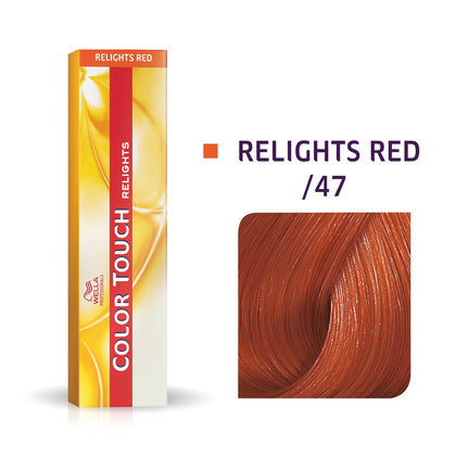 Wella Color Touch /47 Red Brown Demi-Permanent