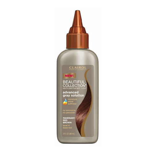 Clairol Beautiful Collection 4R Mahogany Red Brown