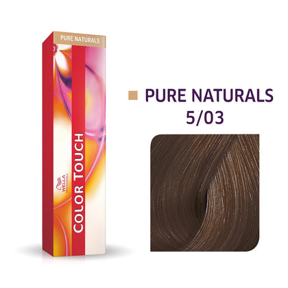 Wella Color Touch 5/4 Light Brown/ Copper Demi-Permanent