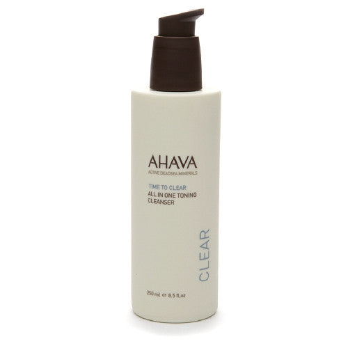 Ahava Time to Clear All In One Toning Cleanser (Cleanser & Toner)