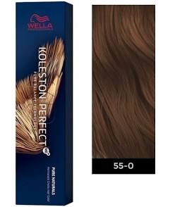 Wella Koleston Perfect 55/0 ME+Intense Light Brown-Natural Permanent