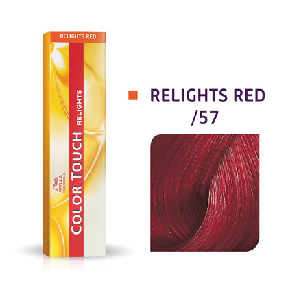 Wella Color Touch /57 Red-Violet Brown Demi-Permanent