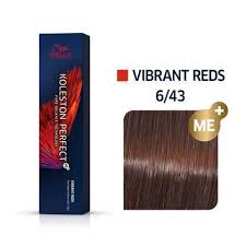 Wella Koleston Perfect 6/43 ME+ Dark Blonde/Red Gold Permanent
