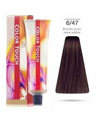 Wella Color Touch 6/47 Red Brunette/ Blonde Demi-Permanent