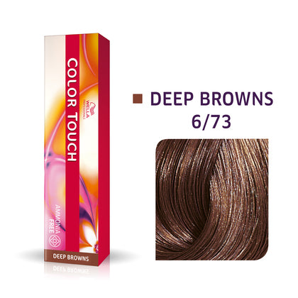 Wella Color Touch 6/73 Dark Blonde/Brown Gold Demi-Permanent