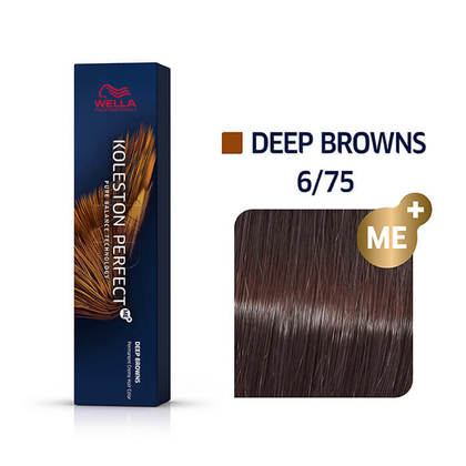 Wella Koleston Perfect 6/75 ME+ Dark Blonde/Brown Red-Violet Permanent