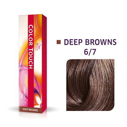 Wella Color Touch 6/7 Dark Blonde/Brown Demi-Permanent