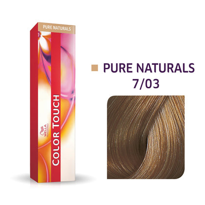 Wella Color Touch 7/03 Medium Blonde/Natural Gold Demi-Permanent