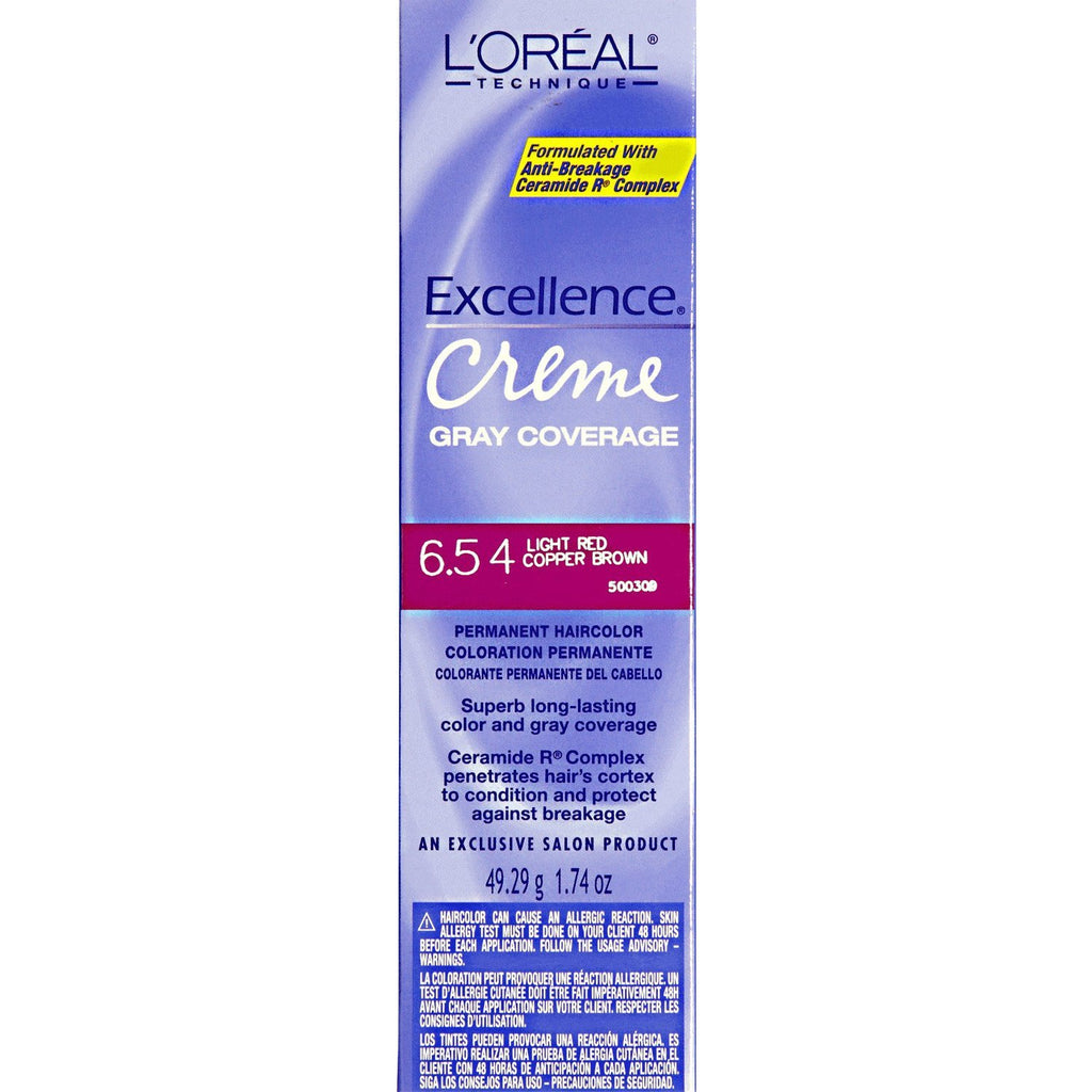 Loreal Excellence Creme 6.54 Light Red Copper Brown