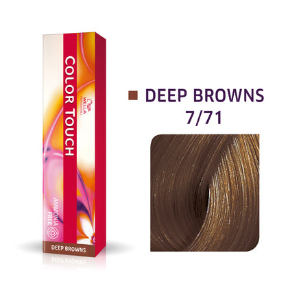 Wella Color Touch 7/71 Medium Blonde/Brown Ash Demi-Permanent