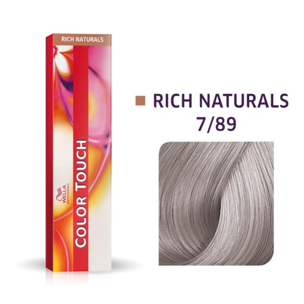Wella Color Touch 7/89 Medium Blonde/ Pearl Ash Demi-Permanent