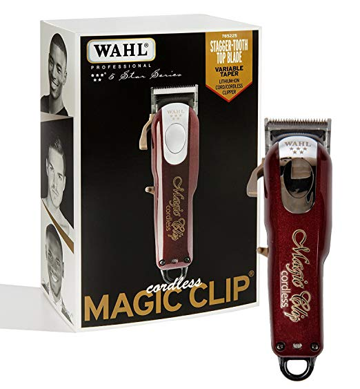 Wahl 5 Star Cordless Magic Clip Clipper #8148 (Dual Voltage) Free Shipping