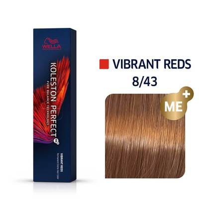 Wella Koleston Perfect 8/43 ME+ Light Blonde/Red Gold Permanent
