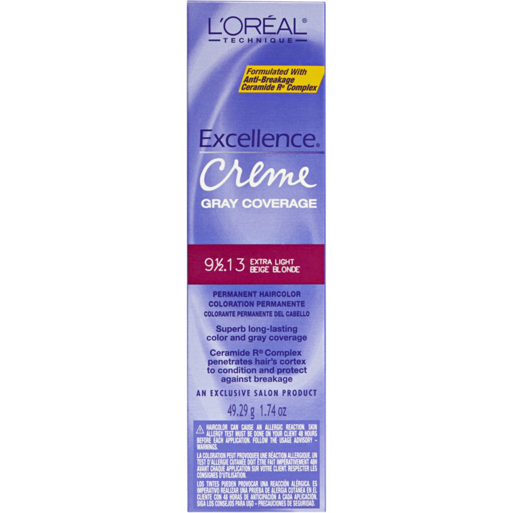 Loreal Excellence Creme 9-1/2.13 Extra Light Beige Blonde
