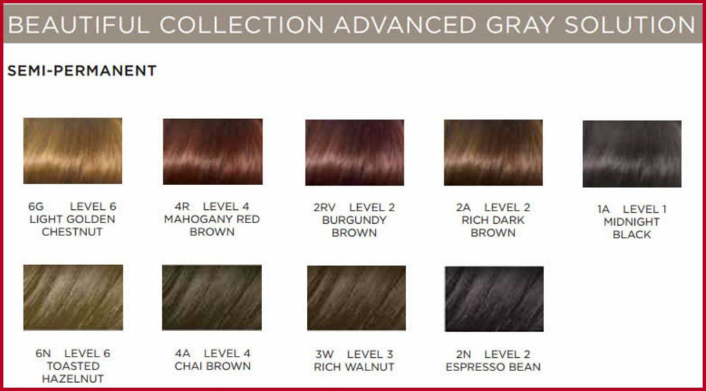 Clairol Beautiful Collection 4A Chai Brown