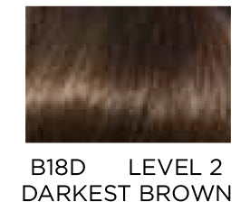 Clairol Beautiful Collection B18D Darkest Brown