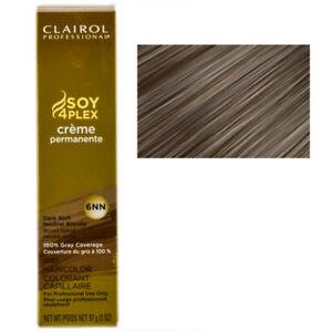 Clairol Professional Soy4Plex Creme Permanente Hair Color 6NN-Dark Rich Neutral Blonde