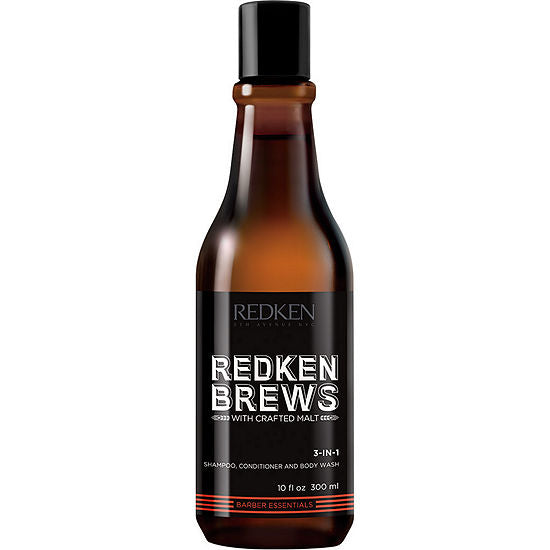 Redken Brews Daily Shampoo ~ Daily Shampoo for All Men's Hair Types