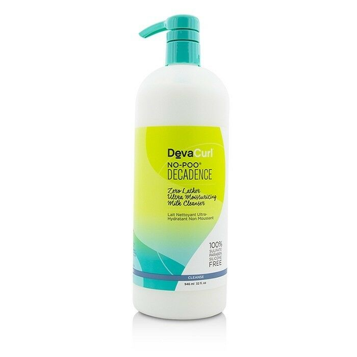 DevaCurl No-Poo® Decadence Zero Lather Ultra Moisturizing Milk Cleanser for Super Curly Hair