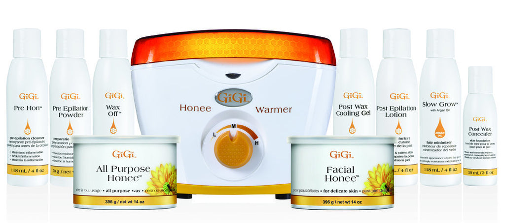 Gigi Professional Pro 1 Kit Honee Wax Warmer And Lotions